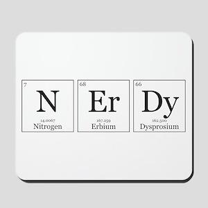 NErDy [Chemical Elements] Mousepad